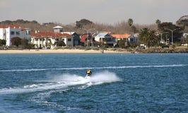 Esquí del jet, Melbourne Australia Foto de archivo libre de regalías