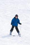 Esquí del muchacho Fotos de archivo