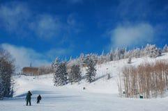 Esquí en Deer Valley Foto de archivo libre de regalías