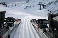Esquí en la nieve fotografía de archivo libre de regalías