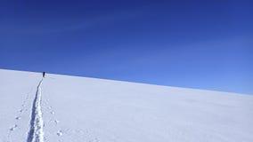 Esquí encima del soporte Gordon Foto de archivo libre de regalías