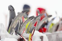Esquís Imagenes de archivo