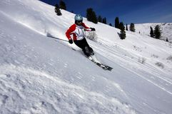 Esquí Imagenes de archivo