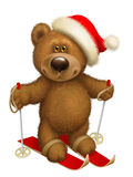 Esquí del oso Fotos de archivo