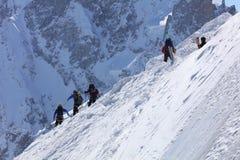 Esquí extremo Foto de archivo libre de regalías