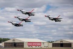 Esquadrão da demonstração do ar do U.S.A.F. Foto de Stock Royalty Free