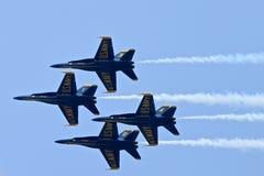 Esquadrão da demonstração dos anjos azuis Imagem de Stock Royalty Free