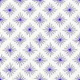 Esquadre as estrelas das linhas Fotografia de Stock