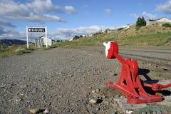 Esquel, patagonia zdjęcie stock