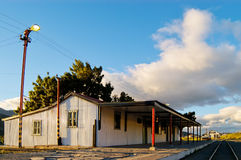 Esquel Touristic Train Station in Patagonia Stock Images