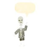 esqueleto amigável dos desenhos animados Fotos de Stock Royalty Free