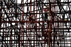 Esqueleto de acero Foto de archivo libre de regalías