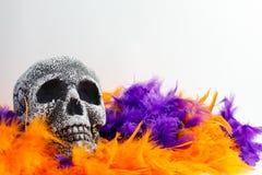 Esqueleto de Dia das Bruxas Foto de Stock