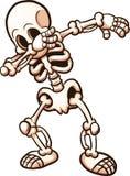 Esqueleto de toque ligeiro Fotografia de Stock