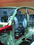 Esqueleto del coche Fotos de archivo libres de regalías