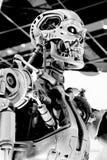 Esqueleto del extremo T-800 Fotografía de archivo libre de regalías