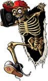 Esqueleto del partido Foto de archivo