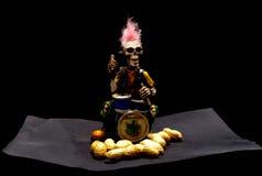 Esqueleto del partido Fotografía de archivo libre de regalías