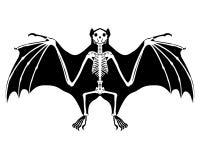 Esqueleto do bastão ilustração royalty free