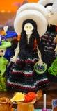 Esqueleto mexicano fêmea Fotografia de Stock