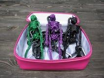 Esqueletos brilhantes do encanto Imagens de Stock Royalty Free