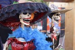 Esqueletos de Catrina Fotos de archivo