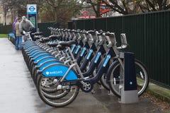 Esquema da bicicleta da comunidade de Londres fotografia de stock