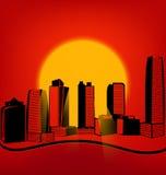 Esquema de la ciudad libre illustration