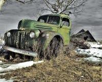 Esquerda à oxidação Imagem de Stock Royalty Free