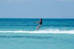 Esqui aquático Imagens de Stock Royalty Free