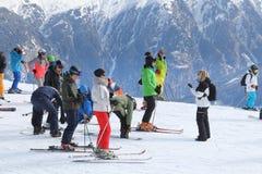 Esqui de Áustria imagens de stock royalty free