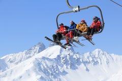 Esqui de França Foto de Stock