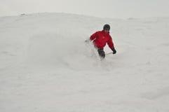 esqui do Para trás-país Imagem de Stock Royalty Free