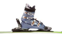 Esqui e carregador Imagens de Stock