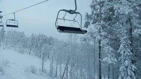 Esqui-elevador Fotos de Stock