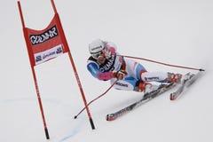 ESQUI: Slalom alpino do gigante de Alta Badia do copo de mundo do esqui fotos de stock