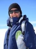 Esquiador Fotos de archivo