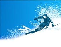 Esquiador Imagens de Stock Royalty Free