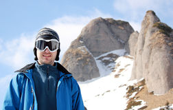 Esquiador Imagenes de archivo