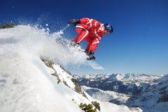 Esquiador Foto de Stock