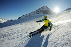 Esquiador Foto de archivo libre de regalías