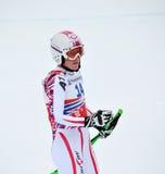 Esquiador Andrea Fischbacher Imagens de Stock Royalty Free