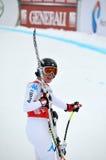 Esquiador Daniela Merighnetti Fotografia de Stock