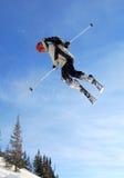 Esquiador de salto Foto de Stock
