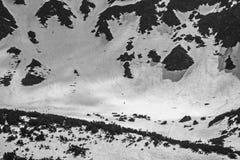 Esquiador del aventurero fotografía de archivo