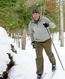 Esquiador del país cruzado Imagen de archivo
