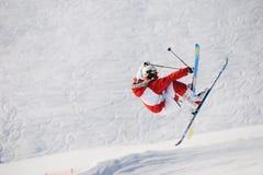 Esquiador do estilo livre Fotografia de Stock Royalty Free