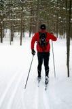Esquiador nórdico Imagen de archivo libre de regalías