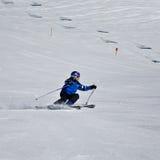 Esquiador novo Imagens de Stock Royalty Free