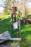 Esquiador oxidado Fotografía de archivo libre de regalías